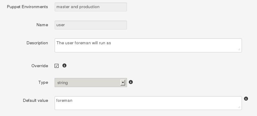 Foreman :: Manual